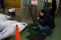 Eric Cheng at Tsukiji Market, Tokyo