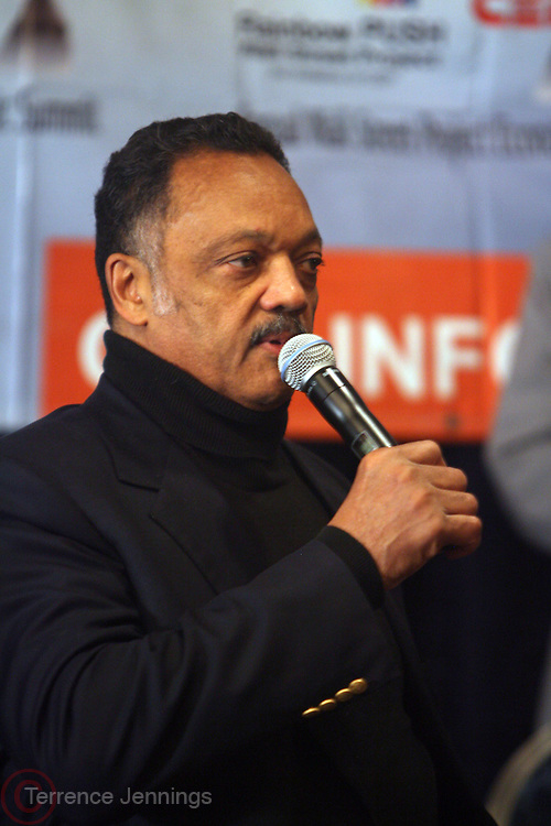 "Rev. Jesse Jackson at the opening reception of The 12th Annual RainbowPUSH Wall Street Project Economic Summit "" Fallout From The Bailout: A New Day in Washington """
