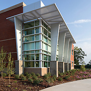 Images of Winn Center on the Consumnes River College Campus, Sacramento, CA Education Infrastructure Architectural Example of Chip Allen Photography.