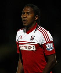 Fulham's Hugo Rodallega - Photo mandatory by-line: Matt Bunn/JMP - Tel: Mobile: 07966 386802 27/08/2013 - SPORT - FOOTBALL - Pirelli Stadium - Burton - Burton Albion V Fulham -  Capital One Cup - Round 2
