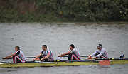 Hammersmith, Greater Game, London, LC. Elite 4+. bow,Matt LANGRIDGE, Stewart INNES, Pete REED and Constantine LOULOUDIS. UK. 2015 Fours Head of the River Race, River Thames [ opposite Chiswick Eyot]  Saturday  07/11/2015 <br /> <br /> [Mandatory Credit: Peter SPURRIER: Intersport Images]