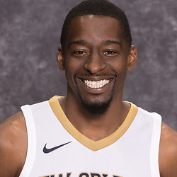 Sep 25, 2017; New Orleans, LA, USA; New Orleans Pelicans guard Jordan Crawford (27) during Media Day at the Smoothie King Center. Mandatory Credit: Derick E. Hingle-USA TODAY Sports