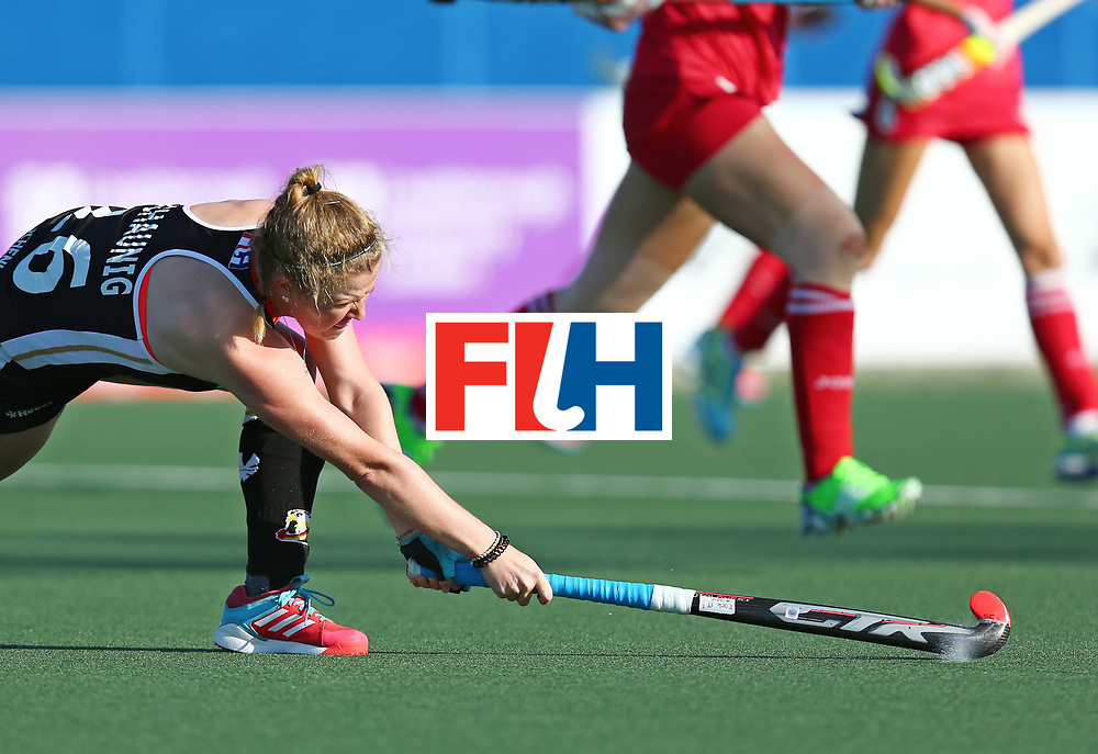New Zealand, Auckland - 22/11/17  <br /> Sentinel Homes Women&rsquo;s Hockey World League Final<br /> Harbour Hockey Stadium<br /> Copyrigth: Worldsportpics, Rodrigo Jaramillo<br /> Match ID: 10303 - GER vs KOR<br /> Photo: (16) SCHAUNIG Maike