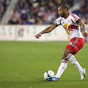 Thierry Henry, New York Red Bulls, in action during the New York Red Bulls V New England Revolution, Major League Soccer regular season match at Red Bull Arena, Harrison, New Jersey. USA. 20th April 2013. Photo Tim Clayton