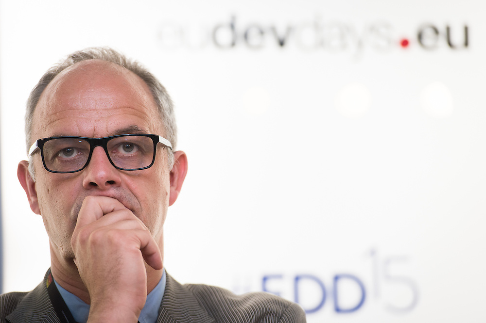 03 June 2015 - Belgium - Brussels - European Development Days - EDD - Inclusion - Building a caring world-A common challenge for Europe and emerging countries - Uwe Gehlen,<br /> Head of Social Protection, Deutsche Gesellschaft f&uuml;r Internationale Zusammenarbeit (GIZ)&copy; European Union