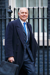 © Licensed to London News Pictures. 26/01/2016. London, UK. Work & Pensions Secretary, IAIN DUNCAN SMITH attending a cabinet meeting in Downing Street on Tuesday, 26 January 2016. Photo credit: Tolga Akmen/LNP