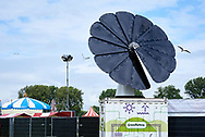 Greenbattery zorgt voor energie tijdens Parkpop - Greenbattery supplies energy during a festival called Parkpop in The Hague, Netherlands