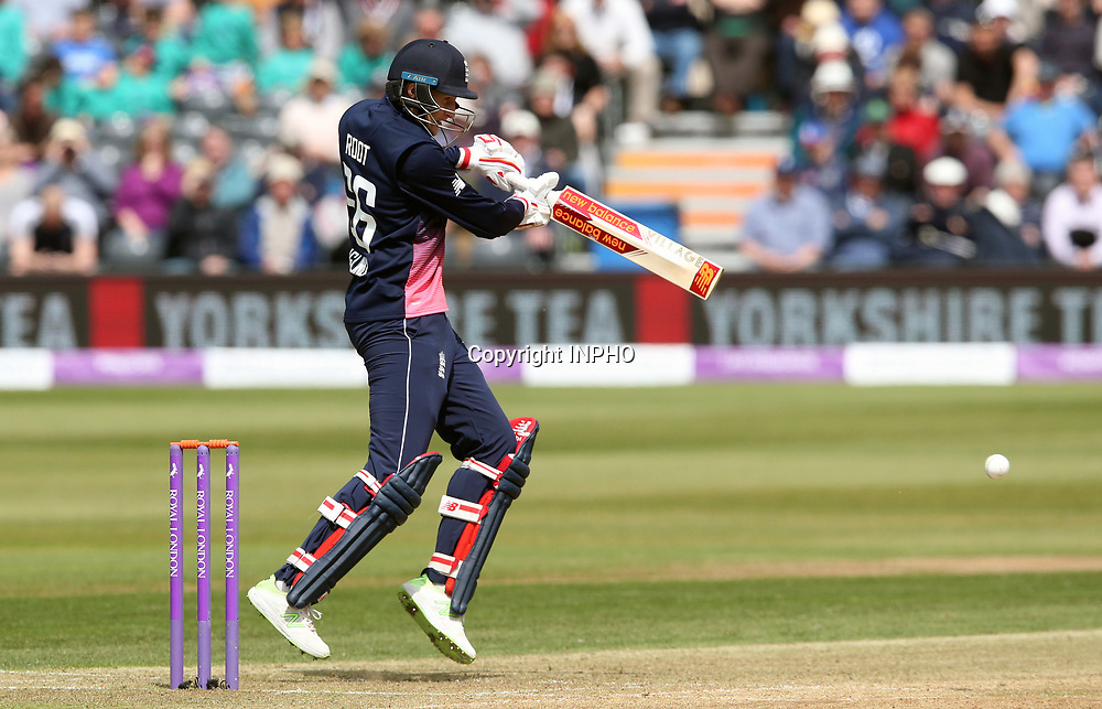 1st One Day International, Bristol Cricket Ground, England 5/5/2017<br /> England vs Ireland<br /> England's Joe Root<br /> Mandatory Credit &copy;INPHO/Andrew Fosker