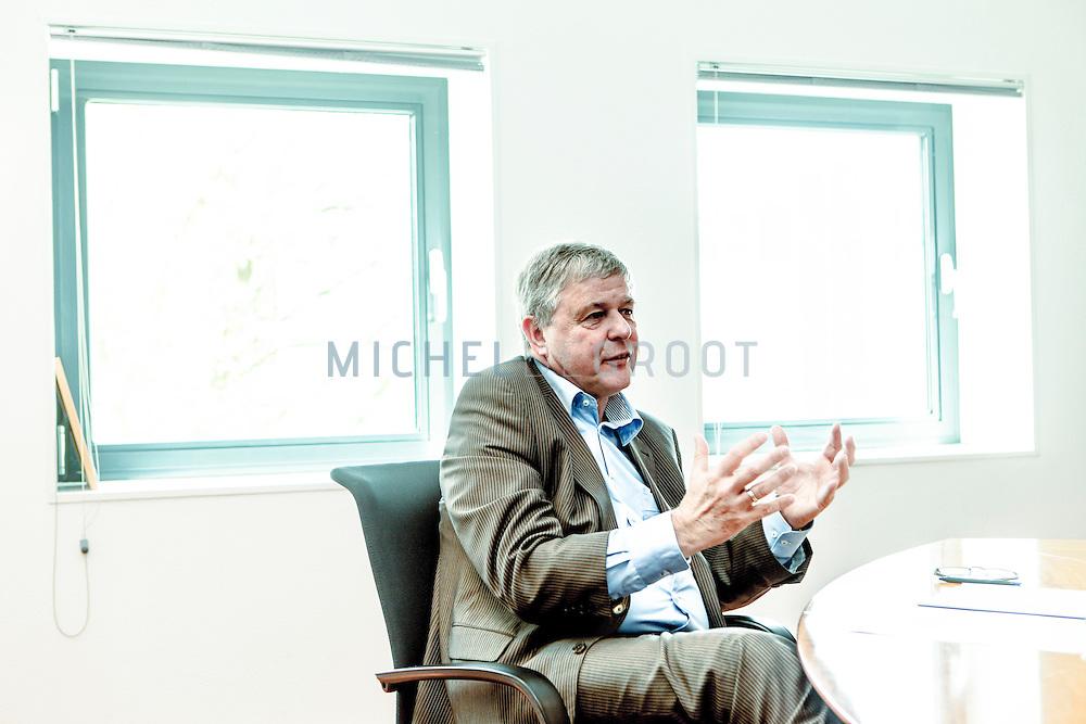 Gerard Erents, interim-directeur van Vestia in Rotterdam