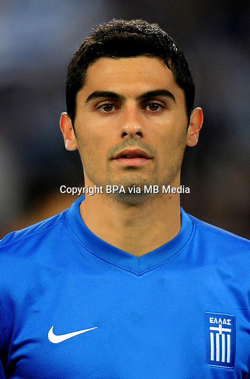 Football Fifa Brazil 2014 World Cup / <br /> Greece National Team - <br /> Nikos SPIROPOULOS of Greece