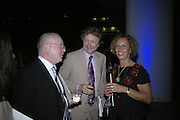 PETER HILL, ( ED OF EXPRESS0 LORD AND LADY HOLLICK, Royal Festival Hall First Night Gala. Southbank Centre. London. 11 June 2007.  -DO NOT ARCHIVE-© Copyright Photograph by Dafydd Jones. 248 Clapham Rd. London SW9 0PZ. Tel 0207 820 0771. www.dafjones.com.