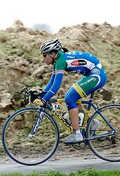 03-04-2006 WIELRENNEN: COURSE DOTTIGNIES: BELGIE<br />Suzanne de Goede wordt derde in het rondje Dottiegnies<br />©2006-WWW.FOTOHOOGENDOORN.NL
