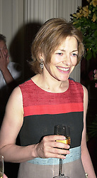 The HON.FLORA SOROS, she is writer Flora Fraser, <br /> at a party in London on 15th May 2000.OEB 107