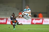 FOOTBALL - FRENCH CHAMPIONSHIP 2011/2012 - L1 - MONTPELLIER HSC v LILLE OSC - 13/05/2012 - PHOTO MANUEL BLONDEAU / DPPI - DIMITRI PAYET / MAPOU YANGAMBIWA