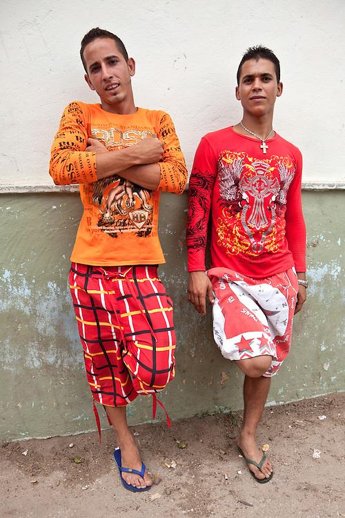 Two guys in Playa Blanca, Holguin, Cuba.