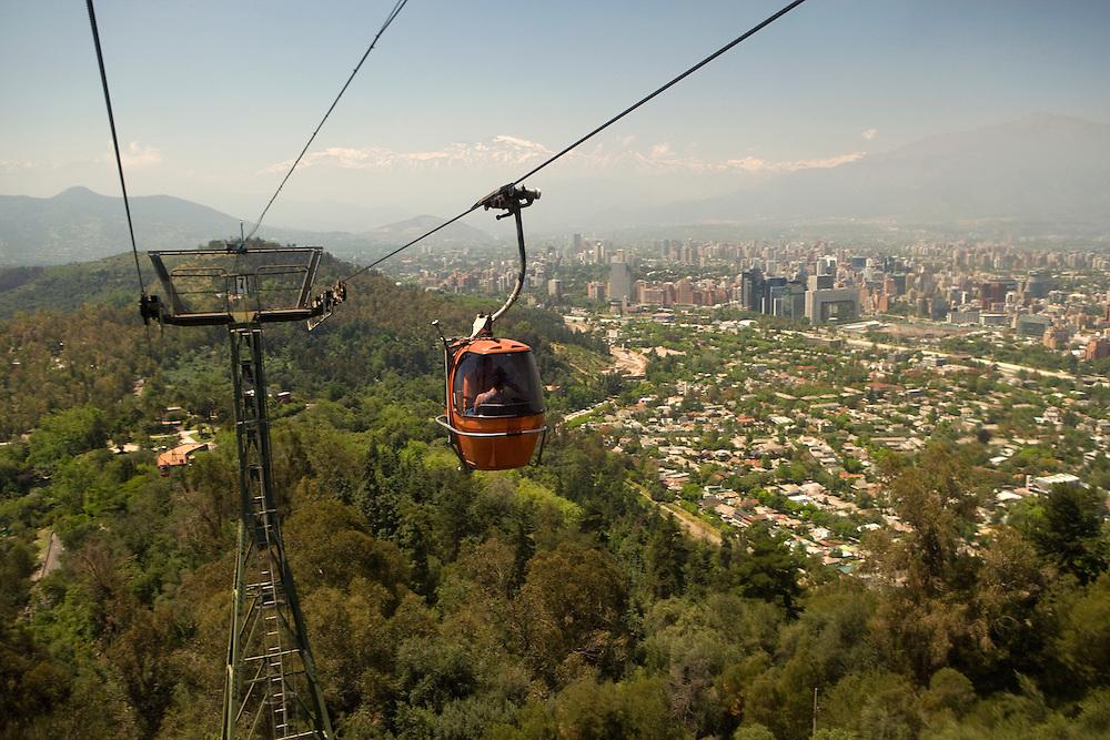 Funicular, Santiago, Chile