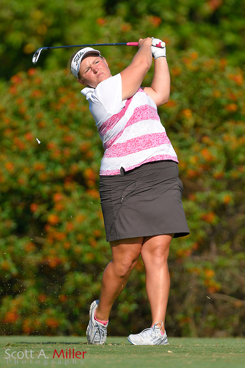 Megan Grehan during the final round of the Chico's Patty Berg Memorial on April 19, 2015 in Fort Myers, Florida. The tournament feature golfers from both the Symetra and Legends Tours.<br /> <br /> &copy;2015 Scott A. Miller