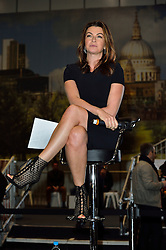 © Licensed to London News Pictures. 18/02/2016. SUZI PERRY talks at the launch of the London Classic Car Show.  The four day event brings together classic car owner, dealers, collectors, experts and enthusiasts. London, UK. Photo credit: Ray Tang/LNP