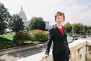 Sen. Susan Collins, R-Maine, led a bi-partisan group of senators to end the government shutdown. Photo by : Lexey Swall/GRAIN