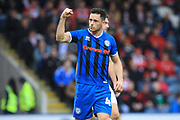 GOAL Ian Henderson celebrates 1-2 during the EFL Sky Bet League 1 match between Rochdale and Doncaster Rovers at Spotland, Rochdale, England on 13 October 2018.