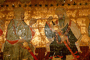SPAIN, ANDALUSIA, GRANADA Alhambra; painting of Moorish Kings