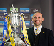 William Hill Scottish Cup 4th round draw - Interim WBO world lightweight champion Ricky Burns and Kristof Fahy, Chief Marketing Officer at William Hill, conduct the draw at Hampden Park.. .- © David Young -.5 Foundry Place - .Monifieth - .Angus - .DD5 4BB - .Tel: 07765 252616 - .email: davidyoungphoto@gmail.com - .http://www.davidyoungphoto.co.uk