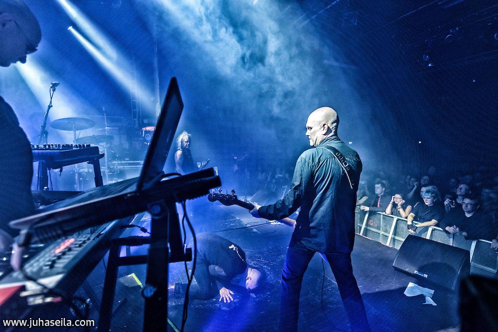 Musta Paraati at Tavastia Club, Helsinki.<br /> 7. Nov, 2015