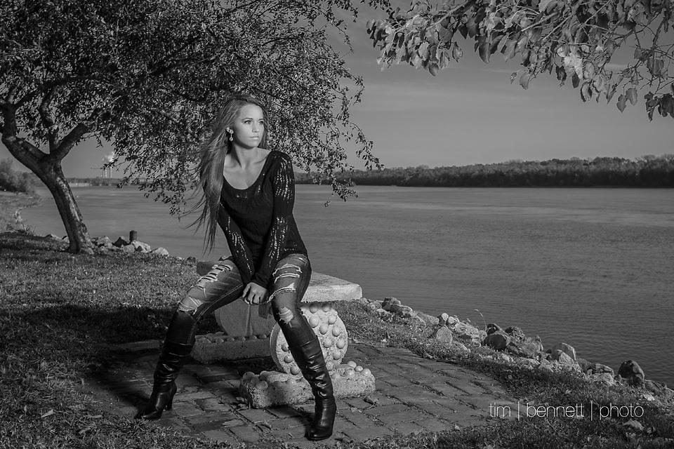 Tim Bennett Photography Senior Portraits Evansville Indiana