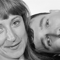 Linda Smith & Henry Normal, Comedian. © Martin Jenkinson