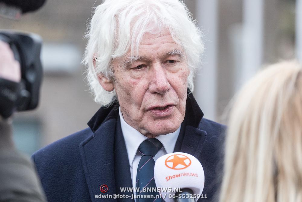 NLD/Leusden/20180306 - Uitvaart Mies Bouwman, Paul van Vliet