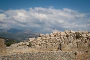 Royal tombs at Mycenae near Nafplion, Greece.