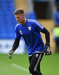 Ben Wilson of Cardiff City - Mandatory by-line: Paul Knight/JMP - Mobile: 07966 386802 - 11/08/2015 -  FOOTBALL - Cardiff City Stadium - Cardiff, Wales -  Cardiff City v AFC Wimbledon - Capital One Cup