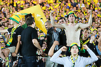 Vincent BESSAT / Supporters Nantes - 16.05.2015 - Nantes / Lorient - 37eme journée de Ligue 1<br />