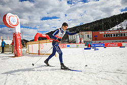17.03.2017, Ramsau am Dachstein, AUT, Special Olympics 2017, Wintergames, Langlauf, Divisioning 5 km Freestyle, im Bild Mirko Cavalli (ITA) // during the Cross Country Divisioning 5 km Freestyle at the Special Olympics World Winter Games Austria 2017 in Ramsau am Dachstein, Austria on 2017/03/17. EXPA Pictures © 2017, PhotoCredit: EXPA / Martin Huber