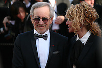 Steven Spielberg and Kate Capshaw at Venus in Fur - La Venus A La Fourrure film gala screening at the Cannes Film Festival Saturday 26th May May 2013