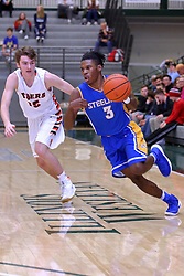 30 December 2016: Wheaton Warrenville South v Joliet Central, State Farm Holiday Classic Coed Basketball Tournament at Shirk Center, Bloomington Illinois