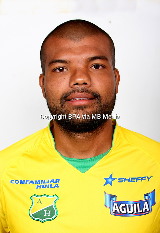 Colombia League - Postobom Liga 2014-2015 -<br /> Club Deportivo Atletico Huila - Colombia / <br /> Leonardo Lopez