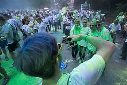 Athletes at Color Run event Tusev Tek Barv 2015 on June 24th 2015, in Roznik, Ljubljana. Photo by Matic Klansek Velej / Sportida