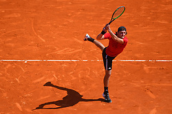 April 17, 2018 - Monte Carlo, FRANCE - Lucas Pouille  (Credit Image: © Panoramic via ZUMA Press)