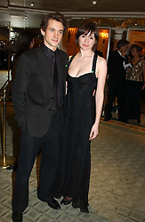 Actress EMILY MORTIMER and actor HUGH DANCY at the 25th annual Awards of the London Film Critics' Circle in aid of the NSPCC held at The Dorchester Hotel, Park Lane, London W1 on 9th February 2005.<br /><br />NON EXCLUSIVE - WORLD RIGHTS