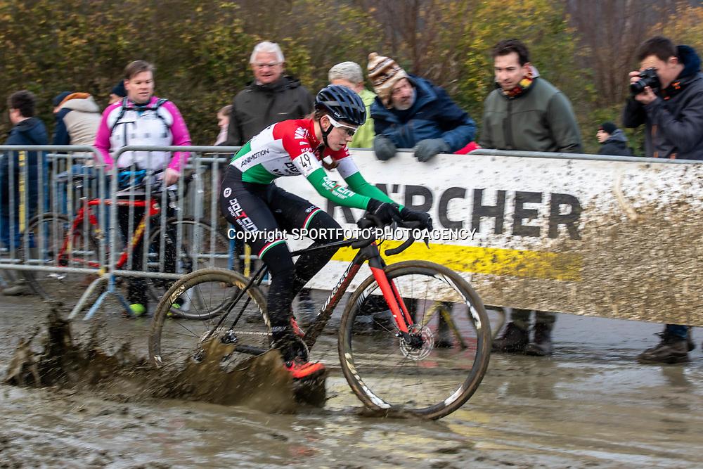 2020-01-01 Cycling: dvv verzekeringen trofee: Baal: Hungarian national champion Kata Blanka Vas