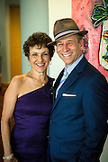 A couple stopped to have their picture taken at the SOPAC 2015 Gala.