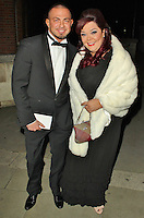 LONDON - November 19: Robin Windsor & Lisa Riley arriving at the Royal Variety Performance (Photo by Brett D. Cove)