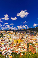 Overview of the colorful city of Guanajuato (from Pipila Monument), Mexico
