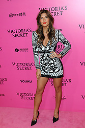 Rocky Barnes attending the Pink Carpet prior to the Victoria's Secret Fashion Show at the Mercedes-Benz Arena Shanghai in Shanghai, China.