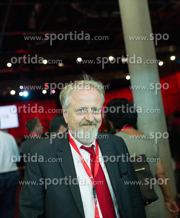 "25.06.2016, Messe, Wien, AUT, SPÖ, Bundesparteitag unter dem Motto ""Österreich begeistern"". im Bild Gerhard Schmid // during political convention of the austrian social democratic party at austrian parliament in Vienna, Austria on 2016/06/25. EXPA Pictures © 2016, PhotoCredit: EXPA/ Michael Gruber"