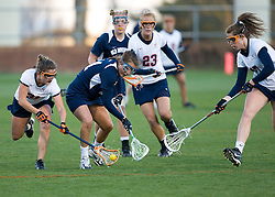 Virginia A Jenny Hauser (31).  The #4 ranked Virginia Cavaliers women's lacrosse team faced Old Dominion Lady Monarchs at the University of Virginia's Klockner Stadium in Charlottesville, VA on April 2, 2008.