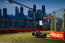 September 15, 2018 - Singapore, Singapore - Motorsports: FIA Formula One World Championship 2018, Grand Prix of Singapore, .#28 Brendon Hartley (NZL, Red Bull Toro Rosso Honda) (Credit Image: © Hoch Zwei via ZUMA Wire)