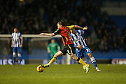 Birmingham City midfielder Stephen Gleeson (8) during the Sky Bet Championship match between Brighton and Hove Albion and Birmingham City at the American Express Community Stadium, Brighton and Hove, England on 28 November 2015.
