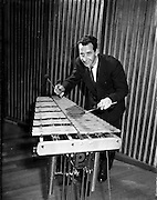16/05/1956<br /> 05/16/1956<br /> 16 May 1956<br /> The new Sham Wilkinson Band at 23 Parliament Street, Dublin. Xylophone.